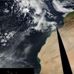 La primera calima de marzo de 2015 en Canarias